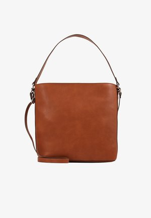 Handbag - rust brown
