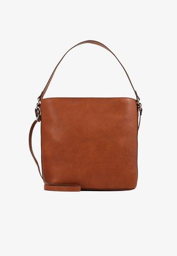 Handbag - rust brown