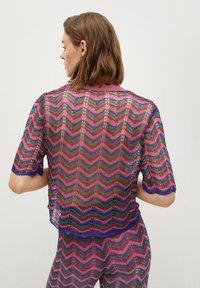 Mango - MIT LOCHMUSTER - Polo shirt - fuchsia - 2