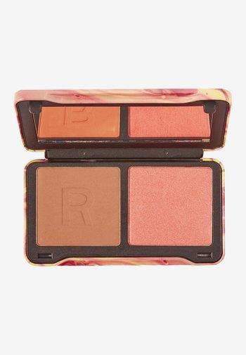 REVOLUTION NEON HEAT DYNAMIC FACE PALETTE - Paleta do makijażu - peach heat