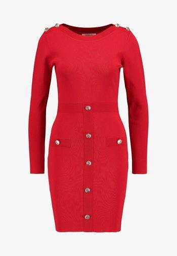 Shift dress - ruby