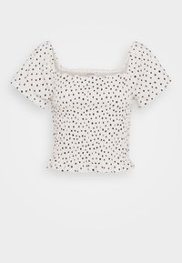 Monki - RIVA  - Print T-shirt - white dusty light - 3