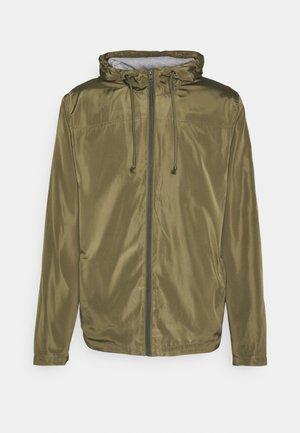 PERCY - Summer jacket - ivy green
