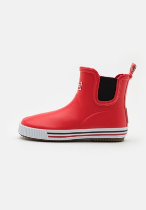 RAIN BOOTS ANKLES UNISEX - Wellies - red