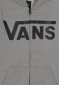 Vans - veste en sweat zippée - cement heather/black - 3