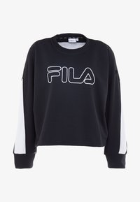 Fila - Bluza - black/bright white - 4