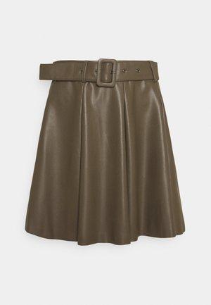 ONLSARA SHORT SKIRT OT - Minifalda - tarmac