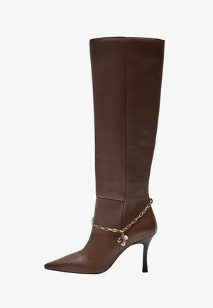 SOUP - High heeled boots - braun