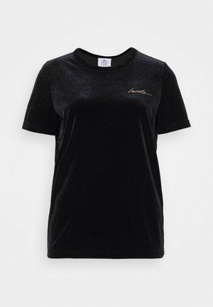 FEMME - Print T-shirt - noir