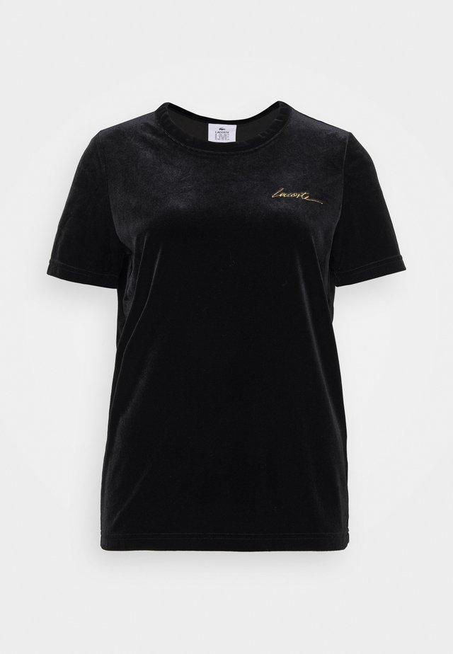 FEMME - T-shirt con stampa - noir