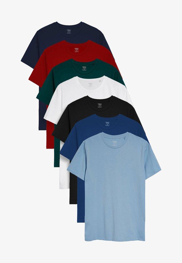 7 PACK - Jednoduché triko - multi-coloured