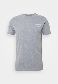 ALDER KNOWLEDE TEE - T-shirts basic - mottled grey