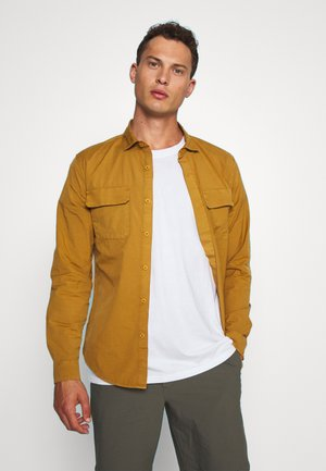 SUSTAINABLE UTILITY - Shirt - deep caramel