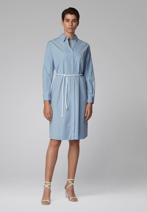 CARUSA - Shirt dress - light blue