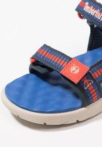 Timberland - PERKINS ROW - Sandalias - bright blue - 2