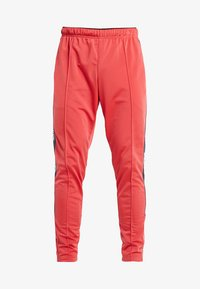 Reebok - TRAINING ESSENTIALS TRACK PANTS - Tracksuit bottoms - red - 4