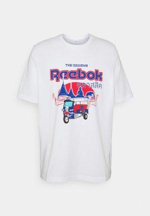 SOUVENIR TEE - T-shirt imprimé - white