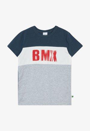BMX  - T-shirt print - pale greymarl