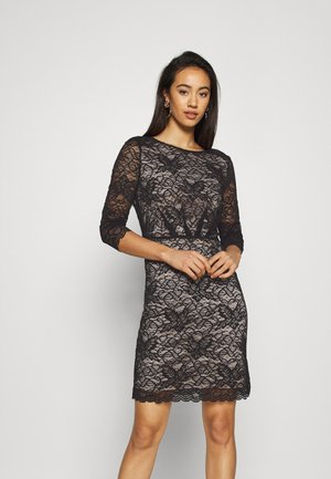 VMEVIE 3/4 DRESS - Day dress - black