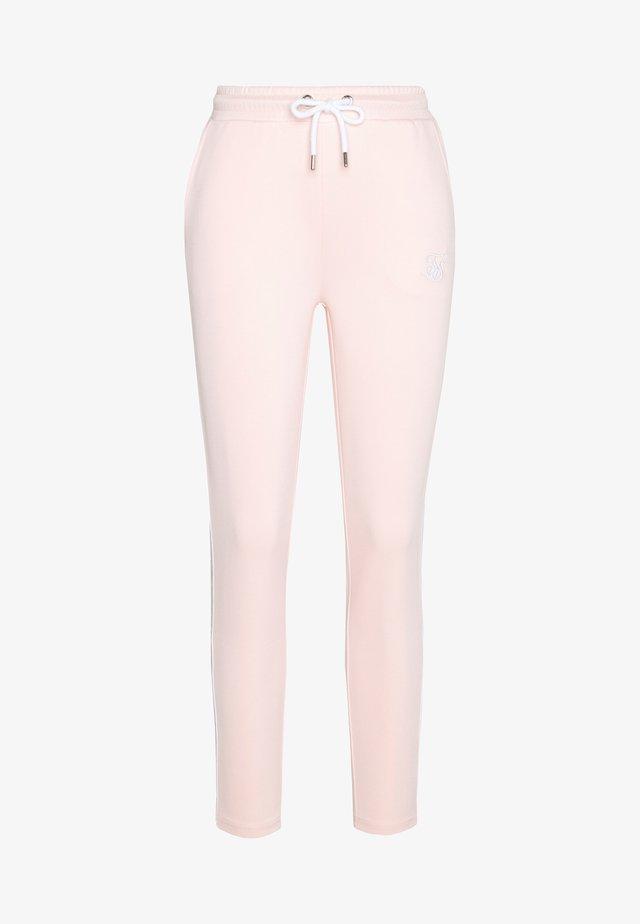 TAPE TRACK PANTS - Verryttelyhousut - cloud pink