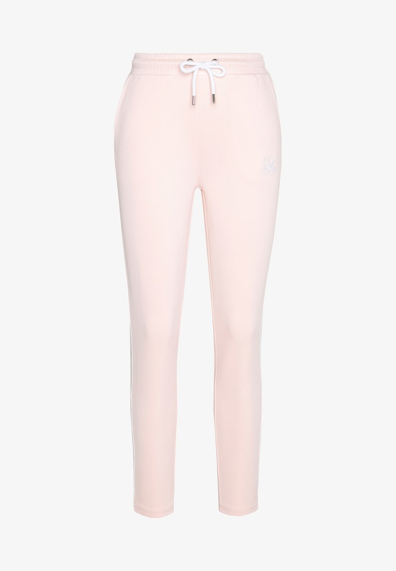 SIKSILK - TAPE TRACK PANTS - Tracksuit bottoms - cloud pink