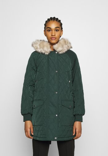 ONLSELINE QUILTED - Parka - scarab