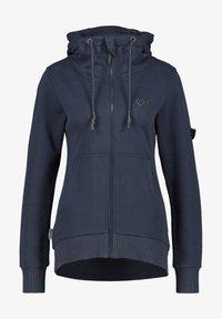 alife & kickin - Zip-up hoodie - marine - 5