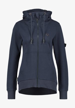 Zip-up hoodie - marine