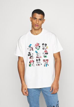 DISNEY MICKEY AND FRIENDS TEE - Print T-shirt - marshmallow