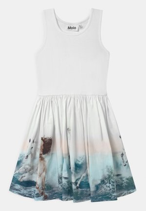 CASSANDRA - Day dress - white