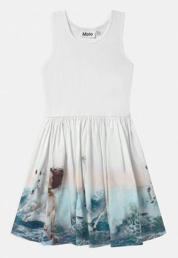 CASSANDRA - Day dress - white