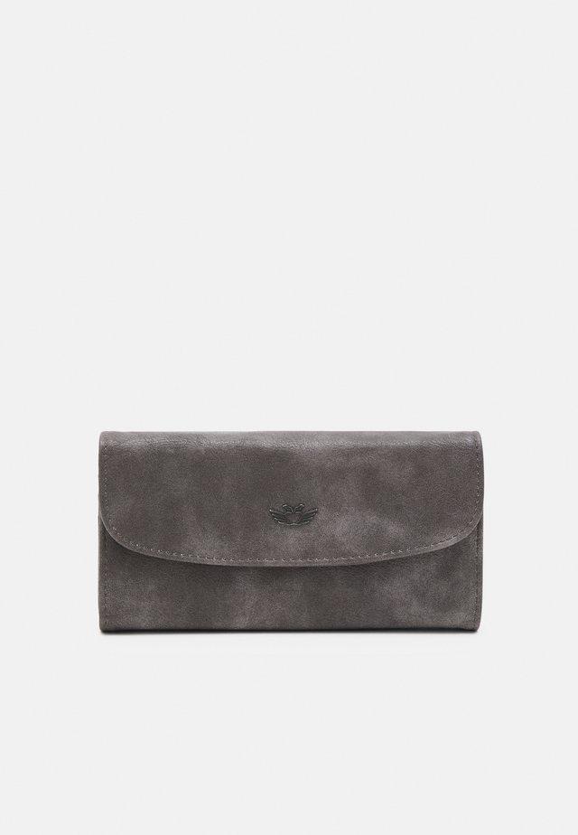 HEIDE - Wallet - dark stone