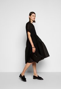 Victoria Victoria Beckham - EXAGERATED DRESS - Cocktail dress / Party dress - black - 1