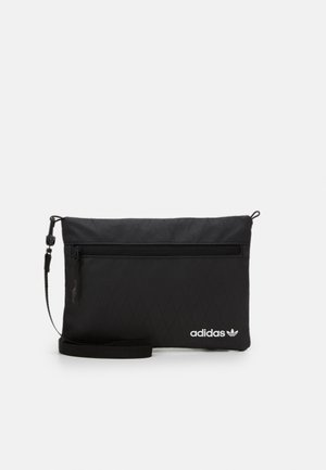 POUCH UNISEX - Across body bag - black/black