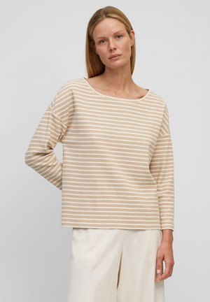 RINGEL-SWEATSHIRT AUS ORGANIC-COTTON-JERSEY - Long sleeved top - combo jersey