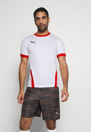 TEAMGOAL - Sports shirt - white/red