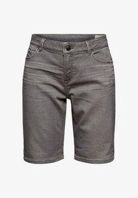 Esprit - Denim shorts - grey medium washed - 8