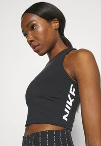 Nike Performance - TANK - Toppi - black/white - 4