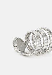 Just Cavalli - DROUBLE WRAP WATCH - Rannekello - silver-coloured/white - 1