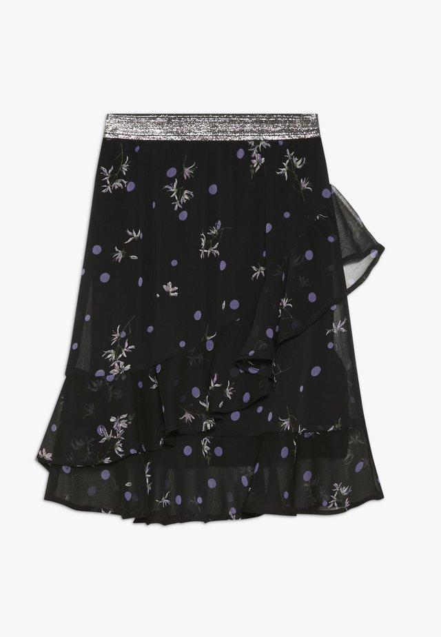 LAJKA - A-snit nederdel/ A-formede nederdele - lilac breeze