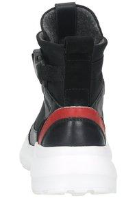Sansibar Shoes - Korkeavartiset tennarit - schwarz - 3