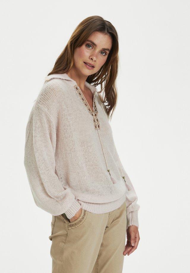 Bluza z kapturem - burnished lilac