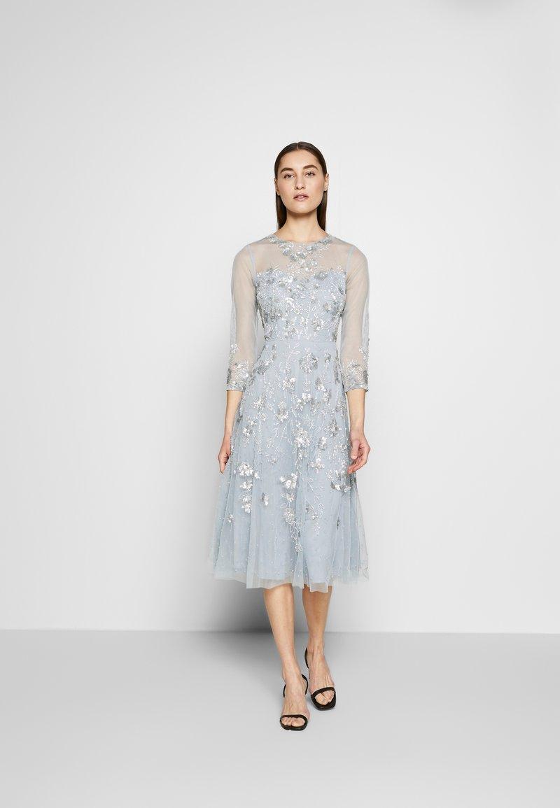 Adrianna Papell - BEAD COVERED - Sukienka koktajlowa - blue heather