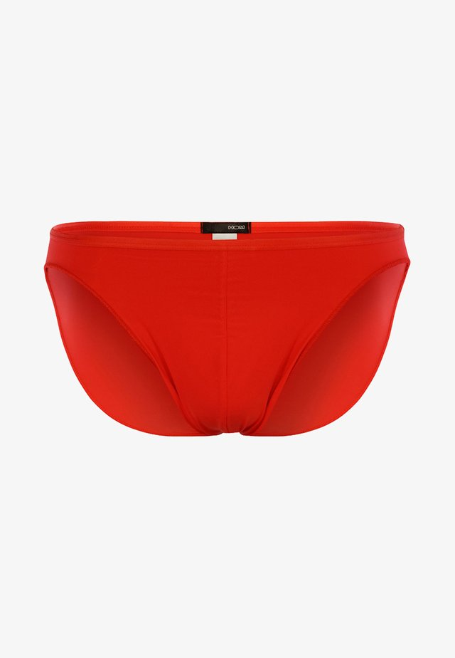 PLUMES - Briefs - red