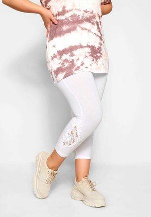 Leggings - Hosen - white