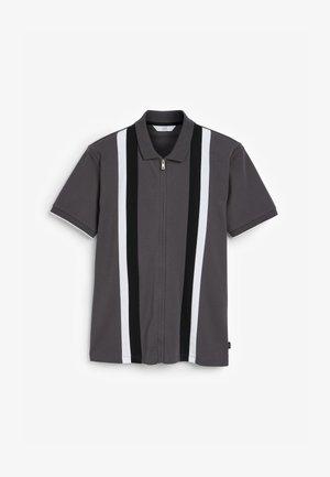 VERTICAL BLOCK  - Polo - light grey