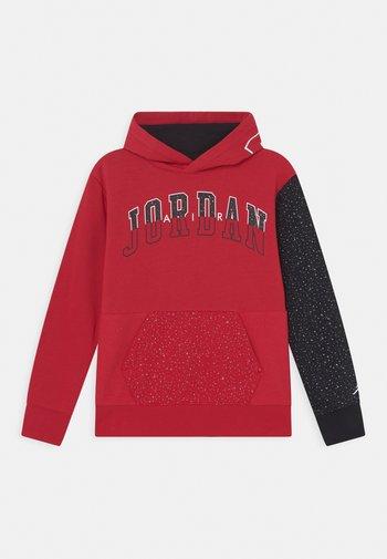 AIR SPECKLE - Hoodie - gym red
