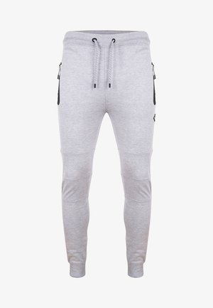 TRISTAIN  - Tracksuit bottoms - grey marl