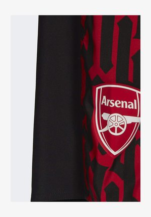 ARSENAL SWIM SHORTS - Swimming shorts - black, red