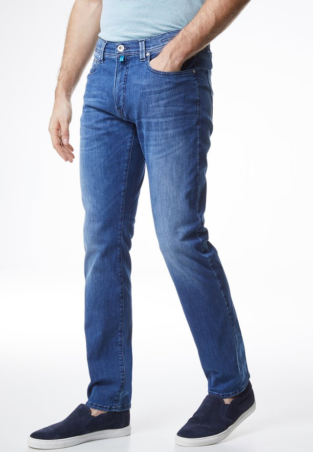 LYON TAPERED - Jeans Tapered Fit - blue (82)